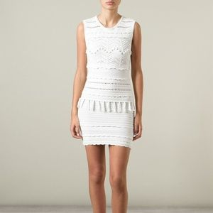 Isabel Marant Shelly Cotton-Blend Knit Dress XS